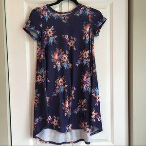 LuLaRoe Scarlett Dress - Floral - Size 12